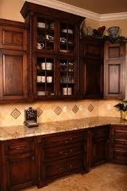 Distressed Wood Kitchen Cabinets Best 25 Dark Wood Kitchens Ideas On Pinterest Beautiful Kitchen