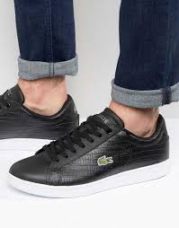 lacoste siege 2017 mens lacoste black lacoste sneakers carnaby evo croc trainers