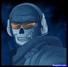 call of duty ghost logan mask how to draw ghost modern warfare step by step video game