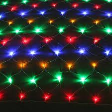 image multi color 300 led net mesh rgb linkable string light