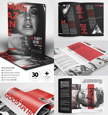 20 magazine templates with creative print layout designs
