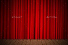 Stage With Curtains Purple Curtains Purple Curtains Purple And Font Logo
