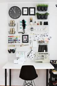 Office Wall Organizer Ideas 10 Ways To Use Pegboard In Your Craft Room Craft Gossip Craft