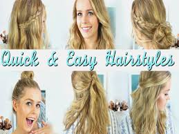 heatless hair styles quick easy heatless hairstyles how to style medium length hair