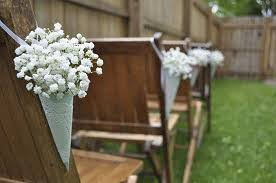 church pew decorations church pew decor any ideas weddingbee