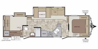 Keystone Rv Floor Plans 2013 Keystone Rv Cougar X Lite Series M 31 Sqb Specs And Standard