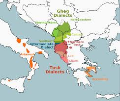 map in language learn about the albanian language free language
