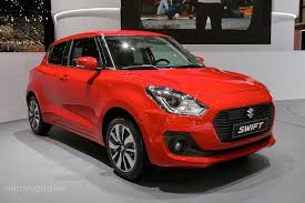 suzuki 2017 suzuki swift makes european debut in geneva autoevolution