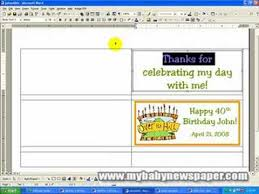 free bar wrapper templates creating bar wrappers using ms word