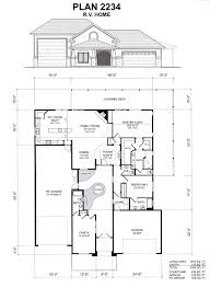 28 rv home plans boat rv garage office 3069 1 bedroom and 1