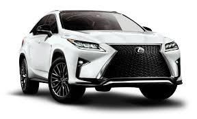 white lexus 2016 lexus rx 350 f white car png image pngpix