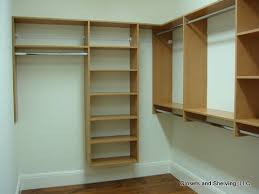closets and shelving closets