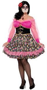 womens costumes women s plus day of the dead senorita costume candy apple