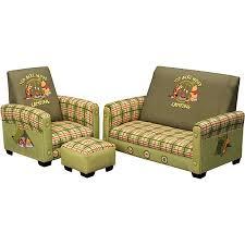 sofa chair and ottoman set disney winnie the pooh sofa chair and ottoman set walmart com