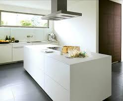 cuisine moderne ilot ilot centrale de cuisine ilot central cuisine vier integr blanc
