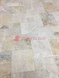 Travertine Patio Pavers by Country Classic Tumbled French Pattern Travertine Pavers Stone