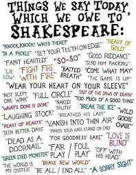 Shakespeare Meme - things we say today which we owe to shakespeare meme chris the
