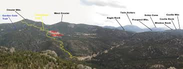 Rocky Mountain National Park Map Crosier Mountain Climbing Hiking U0026 Mountaineering Summitpost