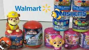 mashems walmart shopping trip dora paw patrol disney toys