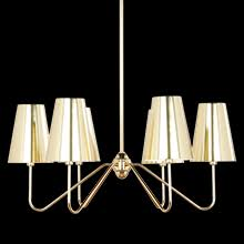 Linear Chandelier With Shade Decorative Chandeliers Rejuvenation