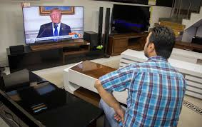 trump s desk trump decertifies iran deal threatens to withdraw cgtn