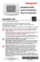 honeywell visionpro iaq manuals