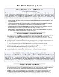 it manager resume it project senior manager resume exle best it manager resume 2017
