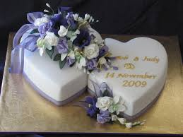 heart wedding cake judy and bob s two hearts wedding cake cakecentral
