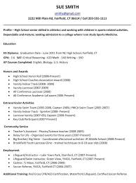 high resume for college admissions exles college application resume exles for high seniors