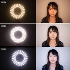 circle light for video led ring light 3000k 7000k adjustable camera photo video fluorescent