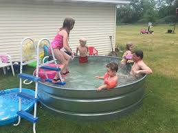 how to make a stock tank pool u2013 embracing motherhood