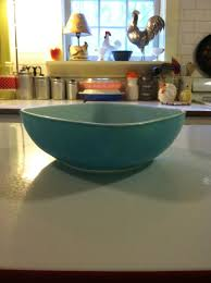 vintage square pyrex turquoise bowl 025 1959 pyrex collectables