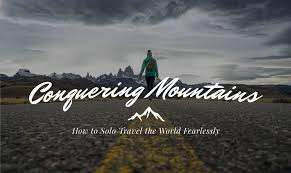 book travel images How to solo travel the world fearlessly be my travel muse jpg