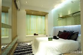 Bedroom Windows Decorating Alluring Small Master Bedroom Decor Using Bay Window Ideas Plus