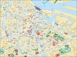 map attractions map of amsterdam tourist attractions sightseeing tourist tour