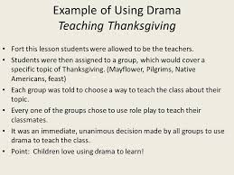 benefits of drama in the classroom ppt