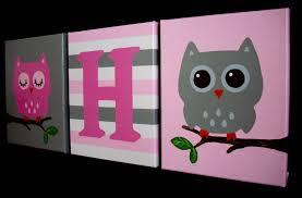Owl Bedroom Decor Owl Nursery Wall Decor Owl Nursery Decor Owl Nursery Wall Art
