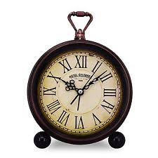 Battery Operated Desk Clock Retro Alarm Clocks Ebay