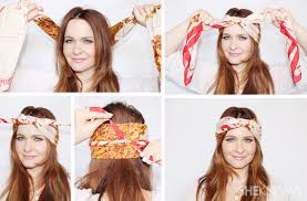 10 hair scarf tutorials that u0027ll take your summer style to the next