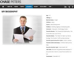 Personal Website Resume Examples by Resume Website Example Resume Cv Cover Letter Web Resume Examples