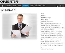 Resume Website Example by Resume Website Example Resume Cv Cover Letter Resume Website