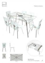 chaises plexiglass table et chaises plexi espace de l homme edl design