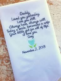 custom wedding presents custom embroidered handkerchief wedding search