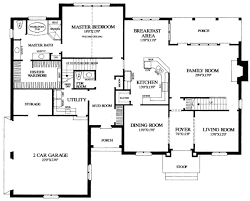 european style house plan 4 beds 3 00 baths 3408 sq ft plan 137 117