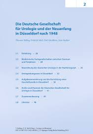 Urologe Bad Nauheim The German Society Of Urology And Its Beginnings After Wwii In