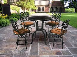 Outdoor Furniture High Table And Chairs by Uncategorized Patio Furniture Bar Height Table And Chairs Black
