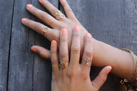 golden silver rings images Stackable rings rlrb jpg