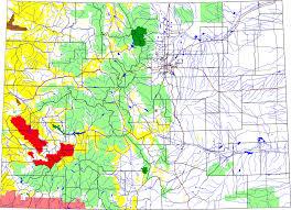Southwest Colorado Map by Uncompahgre Plateau Wikipedia