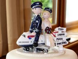 wedding cake topper pilot nurse pilot personalized wedding cake