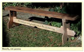 bespoke work long wooden benches